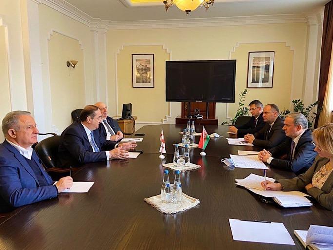 Беларусь и Грузия обсудили сотрудничество в авиационной сфере